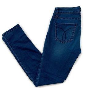 Calvin Klein Ultimate Skinny Jeans Mid Blue Sz 26
